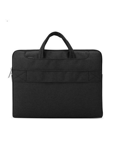 Mcstorey Pofoko MacBook Air Pro Retina Laptop Notebook Çanta Kılıf Koruyucu 13.3 inç Su Geçirmez Handbag 684 Siyah